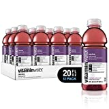 vitaminwater electrolyte enhanced water w/ vitamins, revive fruit punchy, 20 fl. oz (Pack of 12)