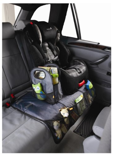 Amazon Brica Back Seat Storage With Protector Gray Discontinued By Manufacturer Car Organizers Baby