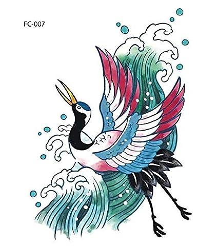 HXMAN Tatuaje Unicornio Flamenco Tatuaje Tatuaje Pegatina Animales ...