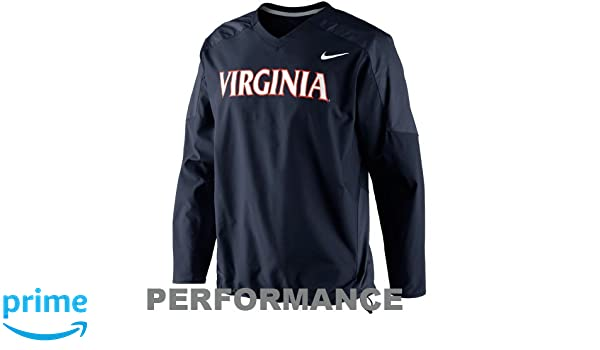 f388a6f8b6f0 Amazon.com   NIKE Virginia Cavaliers Dri-Fit Navy Pullover Wind Jacket ( Small)   Outerwear Jackets   Sports   Outdoors