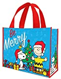 Peanuts Be Merry Holiday Large Recycled Tote 85573