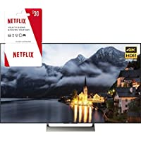 Sony XBR-55X900E 55-inch 4K HDR Ultra HD Smart LED TV (2017 Model) w/ 3 Month Netflix Subscription