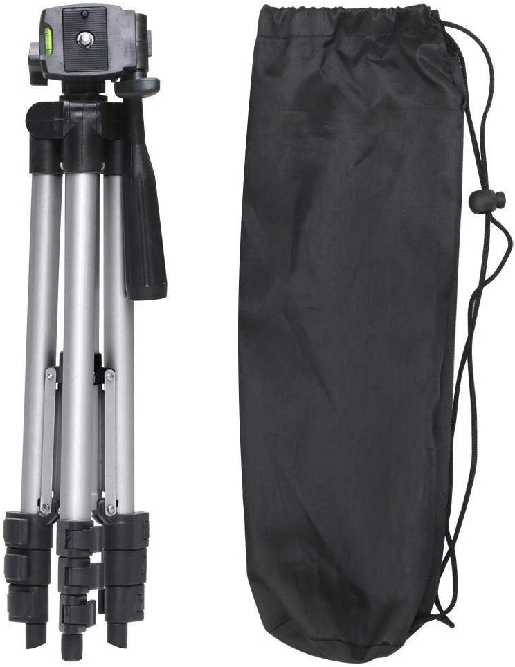 Flexible Aluminum Digital Camera Portable Tripod Stand With Carry Bag