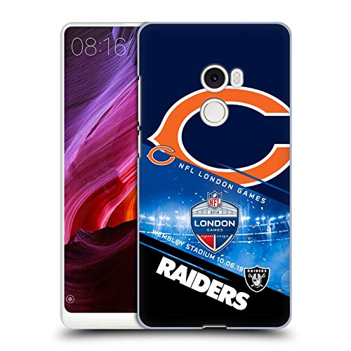Official NFL Bears VS. Raiders 2019 London Games Hard Back Case Compatible for Xiaomi Mi Mix 2