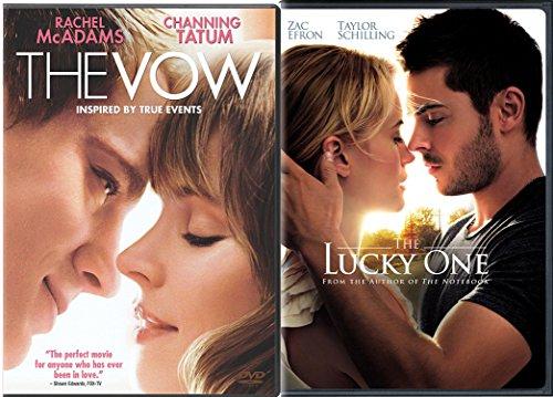 Nicholas Spark 2-Movie Bundle - The Vow & The Lucky One 2-DVD Romance Set