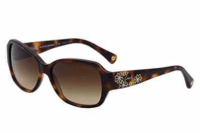 8651d5503c Amazon.com  Coach Sunglasses - Reese   Frame  Tortoise Lens  Brown ...