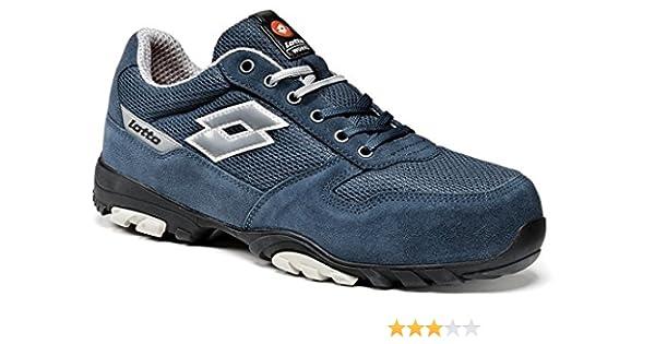 Calzado de seguridad Lotto Works FLEX 500 S1P Azul (38): Amazon.es: Zapatos y complementos