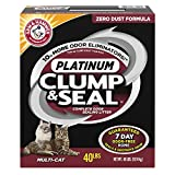 PET_SUPPLIES  Amazon, модель Arm & Hammer Clump & Seal Platinum Litter, Multi-Cat, 40 Lbs, артикул B01M64FECB