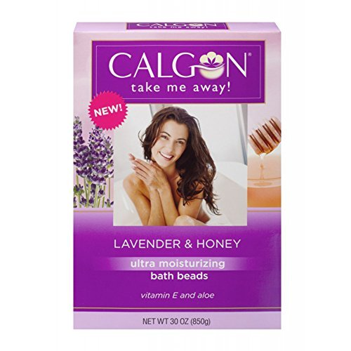 (Calgon Ultra-Moisturizing Bath Beads (Lavender and Honey, 30-Ounce) by Calgon)