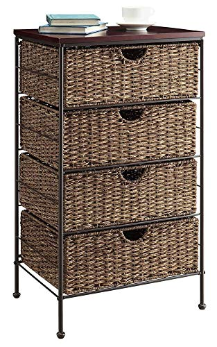 4 Maize Weave Drawer Chest (Drawer Wicker Units Large)