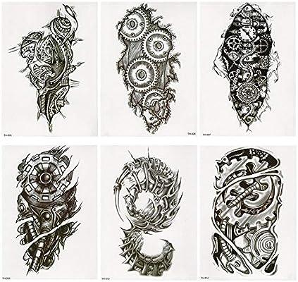 Tatuaje falso, Diseños de tatuajes para manos Pegatinas de ...