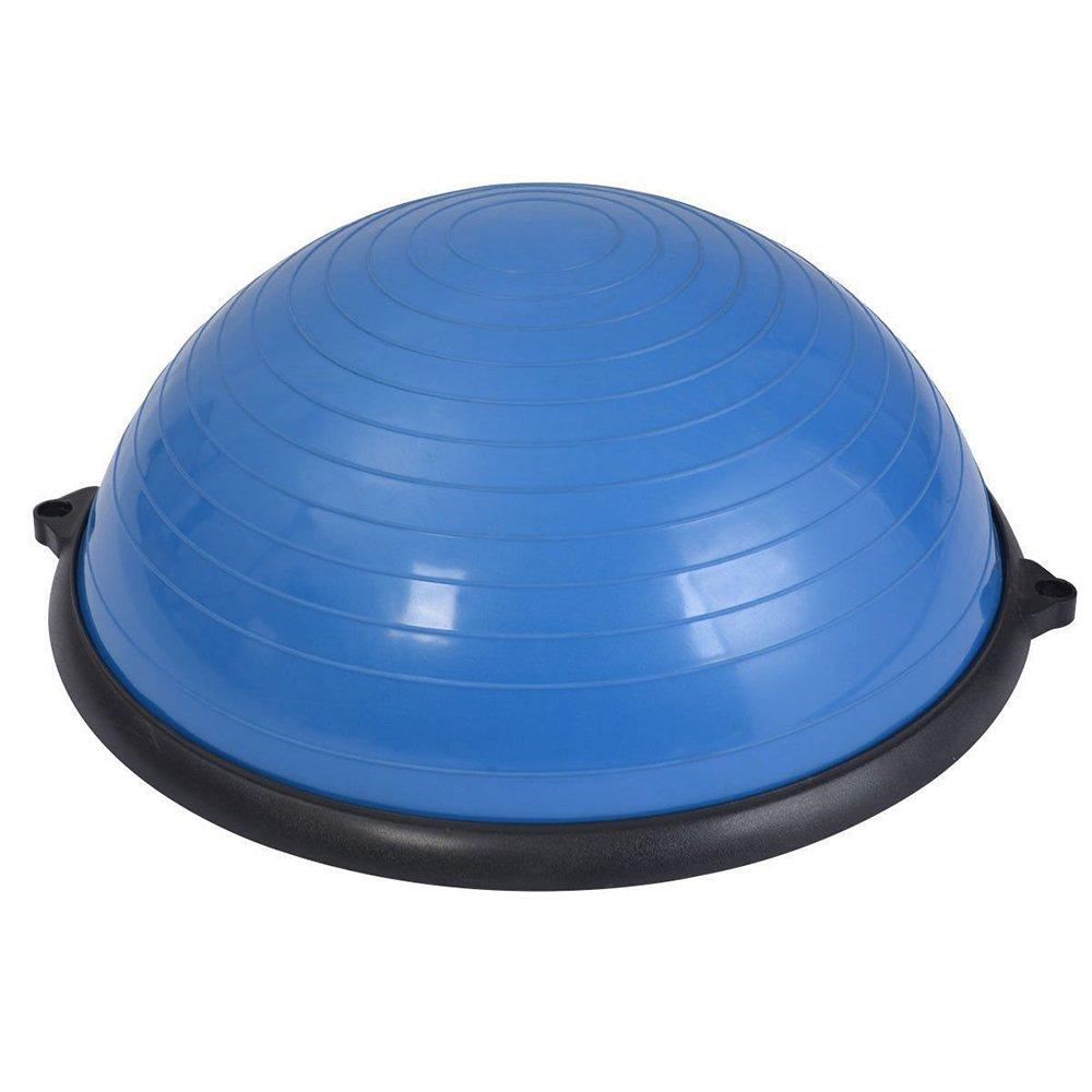 Lovinland Balance Hemisphere Yoga Half Ball Balance Trainer Core Exercise Ball for Gym Office Home Blue