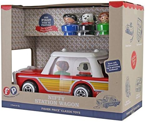 Basic Fun Fisher Price Classic Nifty Station Wagon