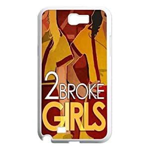 2015 customized 2 broke girls Customized Case for Samsung Galaxy Note 2 N7100, New Printed 2 broke girls Case