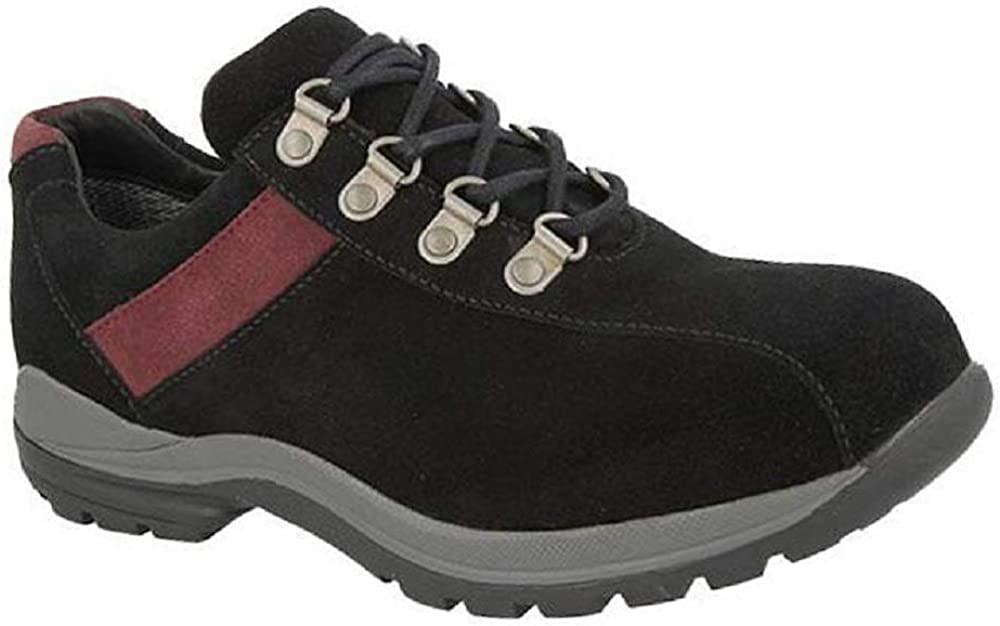 Width DB Wyoming Womens Wide Fit Walking and Hiking Shoes 6V 6E-8E