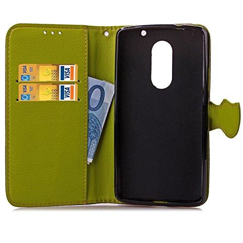 Wkae Lenovo X3 caso cubrir, Lenovo P780 caso cubrir, Mix Color TPU + cuero de la PU cubierta de la caja protectora Funda Flip Stand billetera para Lenovo X3 y P780 DIEBELLEU ( Color : Rose , Size : Le Brown