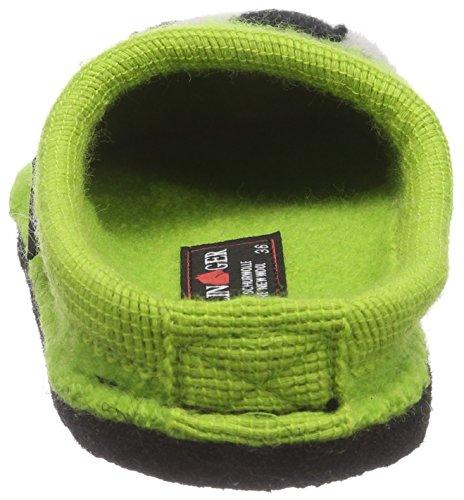 Hausschuhe Canarygreen Haflinger Unisex Grün Erwachsene Flache Molly 98 qIw0rzI