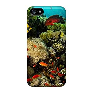 High-quality Durable Protection Case For Iphone 5/5s(coral Reef Exotic Fish)