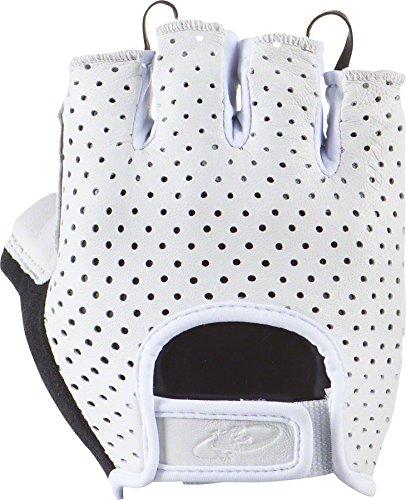 Lizard Skins Aramus Classic Gloves: White LG