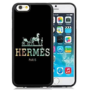 New Fashion Custom Designed Skin Case For iPhone 6 4.7 Inch TPU Phone Case With Hermes Paris Logo Phone Case Cover