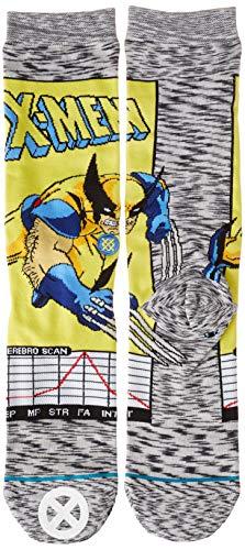 Stance Wolverine Comic Grey Sock