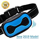 Four Stones New 2019 Model Reduced Price to Introduce Dog Anti Bark Collar for Training Your Best Friend in a Humane Loving Way – No Shock | Small Medium Large Gentle Instruction | Easily Adjustable