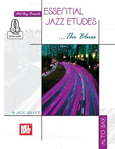 - Essential Jazz Etudes..The Blues - Alto Sax