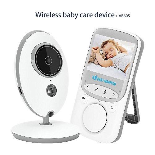 Baby Monitor with Camera Night Vision Temperature Monitoring and 2 Way Talkback System Aibay