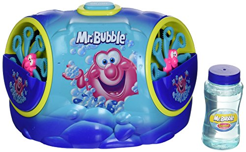 Kid Galaxy Mr. Bubble Super Double Blower Party