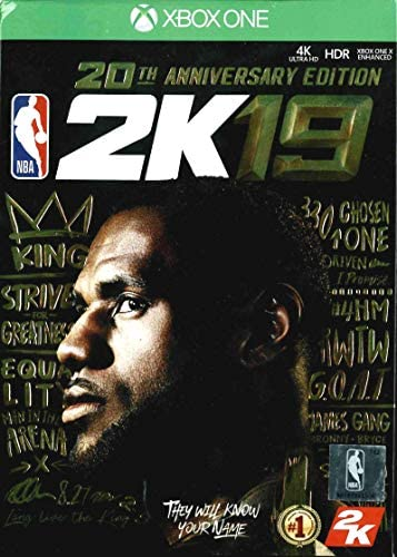 NBA 2K19 - 20th Anniversary Edition (輸入版) - XboxOne [並行輸入品]