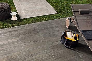 Fliese Außenbereich Holzoptik Farbe Grey Timber Maße X X - Fliesen in holzoptik für den außenbereich