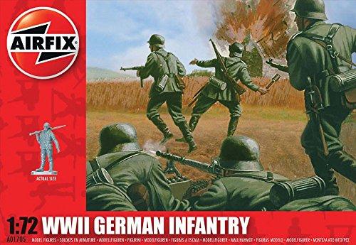 Airfix - A01705 - Construction et Maquettes - Bâtiment - WWII German Infantry