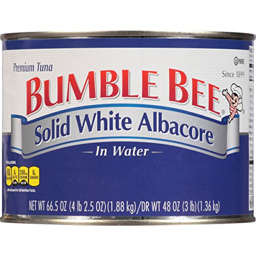Price comparison product image Bumble Bee Solid White Albacore Tuna in Water,  66.5 Ounce Can