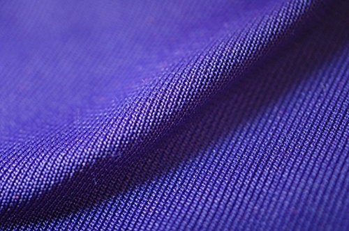 Neotrims Polyester Stretch Knit Rib Fabric to Trim Garments, Waistbands, Cuffs and Welts or for Outerwear. Light Weight Jersey Material for Apparel, Resilient, Sports Look, Light Sheen: Black, Royal Blue, Navy, Purple, White, Wine, Cerise and Red Colours