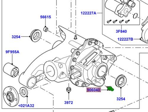 Amazon com: Genuine Land Rover Oil Temperature Sensor Rear