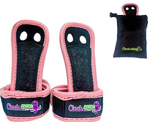 Alympos Sports Unique Gymnastics Grips for Girls and Boys, Kid Gymnastics Grips, Girls Gymnastics Grips, Youth Gymnastics Grips   No Worries, No Stress, No Pain! (Pink, Small)