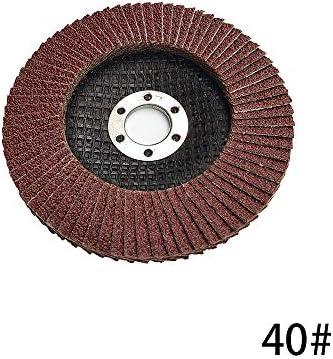Baugger Fächerscheiben - 100Mm Grinding Wheels - 10 Psc 100Mm Grinding Wheels Flap Discs 40-320 Grit Angle Grinder Abrasive Tool Polishing Sanding Grinding Wheel-Model:40 Grit