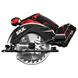 SKIL 20V 6-1/2 Inch Circular Saw, Includes 5.0Ah PWRCore 20 Lithium Battery and Charger - CR540603