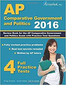 Best ap comparative government review book