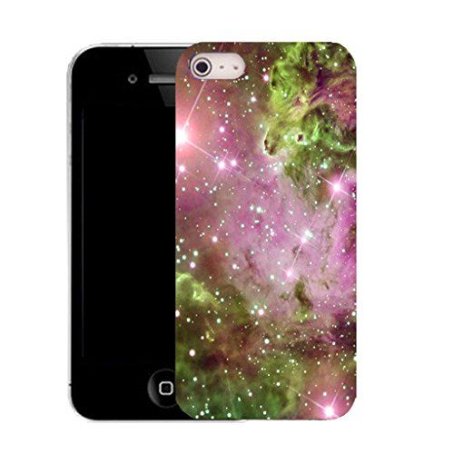 Mobile Case Mate IPhone 5S clip on Silicone Coque couverture case cover Pare-chocs + STYLET - starstreak pattern (SILICON)