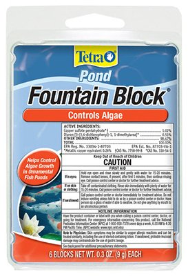 Fountain Block Algae Control, 6 Blocks 0.3Oz (9g) Each ()