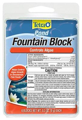 Pet Form Tablets 500 - Fountain Block Algae Control, 6 Blocks 0.3Oz (9g) Each