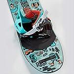 Fivekim-Tuta-da-Sci-Snowboard-Professionale-80-100cm-Adatta-Ai-Principianti-E-di-Buona-Stabilita