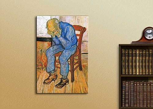 at Eternity's Gate (or Sorrowing Old Man) by Vincent Van Gogh Oil Painting Reproduction