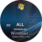 Windows Boot / Repair / Data Recovery Disk XP, VISTA, 7 ,8 , 8.1 & 10!