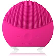 FOREO LUNA mini 2 (T-Sonic Facial Cleansing Device) (Rose red)