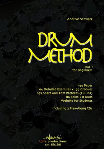 Andreas Schwarz: Drum Method Vol.1 For Beginners (English). Für Schlagzeug