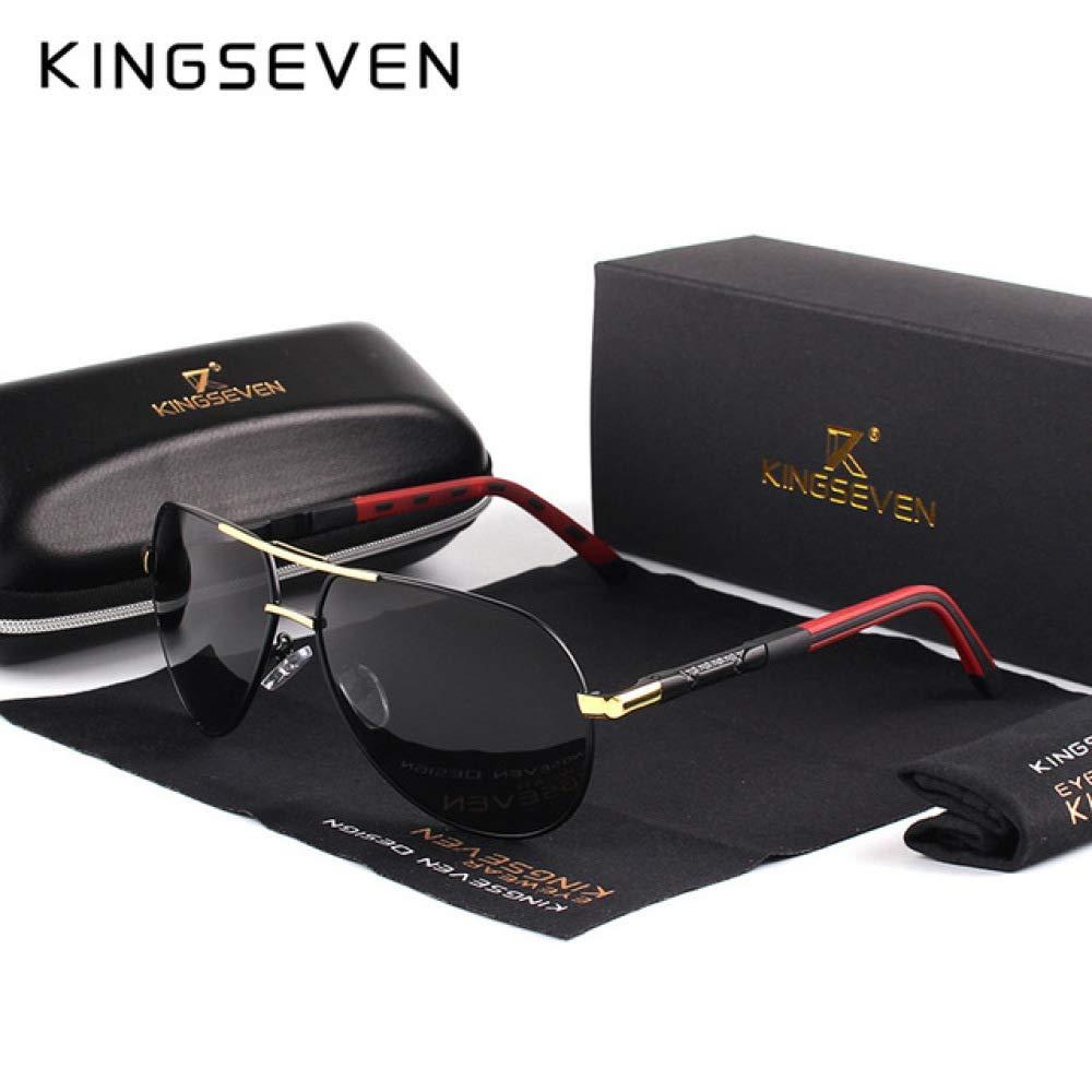 Yangjing-hl Gafas de Sol de Aluminio y magnesio para Hombre ...