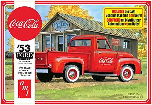 AMT 1144M 1/25 1953 Ford Pickup, Coca Cola 2T Model Kit