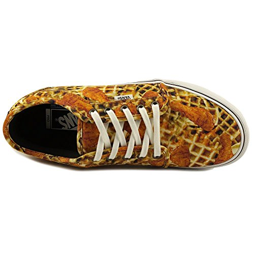 Vans Mens Chukka Low Chicken And Waffles Scarpa Da Skateboard Alto Alla Caviglia (pollo + Waffle) Bianco